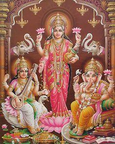 Hindu Goddess Lakshmi Pictures for Akshaya Tritiya | Hindu Devotional ...