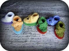 Create your own baby booties by JodysBabyGoodies on Etsy, $15.00