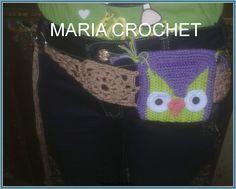 CROCHET BELT BAG  &MOBILE COVER