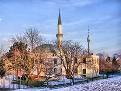 The Vienna Islamic Centre is the largest mosque in Austria, located in Vienna's 21st district Floridsdorf.