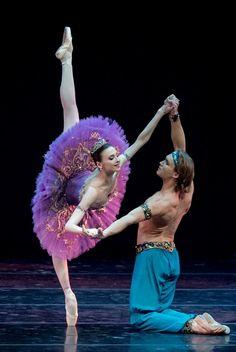 "<<Svetlana Zakharova as Medora in ""Le Corsaire"">>"