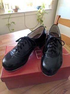 Pop Men Tap Dance Shoes Faux Leather Breathable Dancing Shoes Male Dancer Shoes