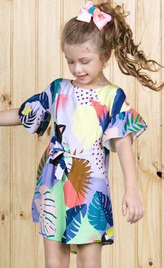 Coleção | Camu Camu Girls Summer Outfits, Kids Outfits, Little Miss Dress, Kurti Sleeves Design, Dolce And Gabbana Kids, Kids Gown, Kids Wear, Girly Girl, Pretty Dresses