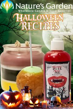 Halloween Recipes by Natures Garden.