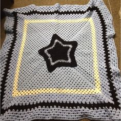 # star afghan almost finished now