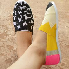 Composition notebook and pencil shoes, perfect for teachers or lovers of learning!