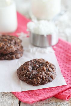 Brownie Coconut Macaroons