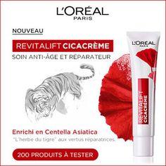 Test produits - Testez le soin Revitalift CicaCrème de L'Oréal Paris - Nous recherchons 200 testeurs ! Posez votre candidature gratuitement.