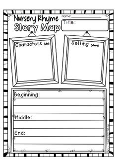No-Prep! Easy to use printables for your classroom. This pack contains 100 pages of math and literacy printables with a Nursery Rhyme Theme. $