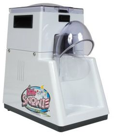 Little Snowie Ice Shaver Snow Cone Machine