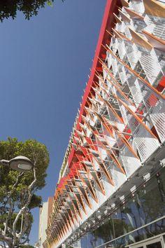City of Santa Monica Parking Structure #6 by Behnisch Architekten + Studio Jantzen / Santa Monica, CA, USA