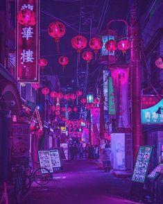 51 Ideas bts wallpaper dark aesthetic for 2019 Aesthetic Japan, Japanese Aesthetic, Purple Aesthetic, Aesthetic Art, Aesthetic Anime, Cyberpunk Aesthetic, Cyberpunk City, Cyberpunk 2077, Vaporwave