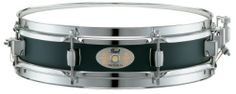 Pearl S1330B, 13x3-inch Steel Piccolo Snare Drum, Black Lacquer Shell by Pearl. $131.56. Pearl's S1330B Steel Piccolo Snare Drum is great for use a  secondary or primary snare drum and provides crisp, brilliant attack and tight sound with excellent projection.