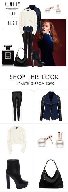 """""""simply the best"""" by sofiacalo ❤ liked on Polyvore featuring Chanel, Alexander McQueen, Vince, adidas Originals, Schutz and Michael Kors"""