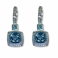 Check out one more breathtaking colorful gem stone earrings - Parris Jewelers, Hattiesburg, MS Gemstone Colors, Gemstone Earrings, Diamond Engagement Rings, Colorful, Jewels, Gemstones, Elegant, Check, Classy