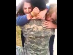 Soldier, Home from the Army, Surprises Younger Sisters