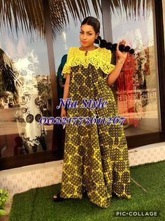 Long African Dresses, Latest African Fashion Dresses, African Inspired Fashion, African Attire, African Wear, Abaya Fashion, Fashion Outfits, Church Dresses For Women, African Traditional Dresses
