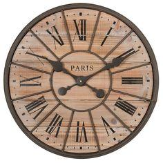Horloge en métal D 50 cm NORTHWOOD
