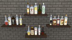 La Luna Rossa-Sims: Various Decorative Bottles • Sims 4 Downloads