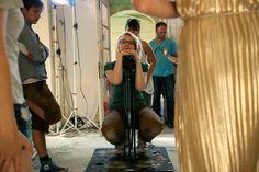 Dreharbeiten im Anscharpark Kiel, Juli 2014 Foto: Frank Schmerschneider Gym, Sports, Movie, Kiel, Hs Sports, Sport, Workouts, Gym Room, Gymnastics Room