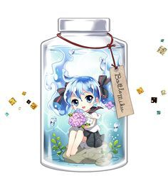 bottle miku chibi - Google Search