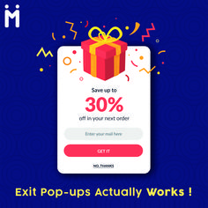 Exit pop-ups are a really good way to capture people's data and are proven to work with website visitors! Best Web, Software Development, Digital Marketing, Web Design, Pop, Website, Business, Design Web, Popular