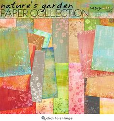 Nature's Garden Paper Collection