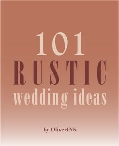 Rustic Wedding Ideas + more via Etsy. $3 digital print