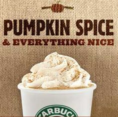 pumpkin spice is everything nice