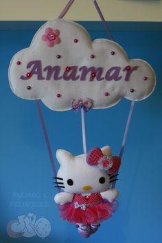 Mimos e Feltrices: Hello Kitty bailarina