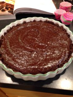Libby's Orange Chocolate Tart - healthy and delicious! Vegan Dessert Recipes, Real Food Recipes, Chocolate And Orange Tart, Food Challenge, Delicious Chocolate, Different Recipes, Favorite Recipes, Treats, Baking