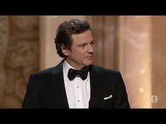 Colin Firth's Best Actor Acceptance Speech, The King's Speech - Oscars 2011