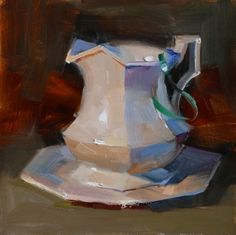 Warm light cool shadow, painting by artist Qiang Huang