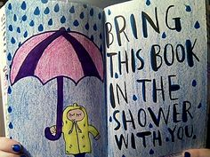 Wreck this journal : Bring this book in the shower with you