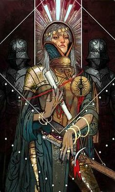 Dragon Age: Inquisition tarot card - War table -  Connections