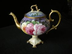 Lovely #Limoges #Teapot