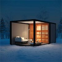 Outdoor Sauna, Outdoor Decor, Sauna Design, Tiny House Plans, Home Spa, Architecture, Lounge, Outdoor Kitchens, Furniture