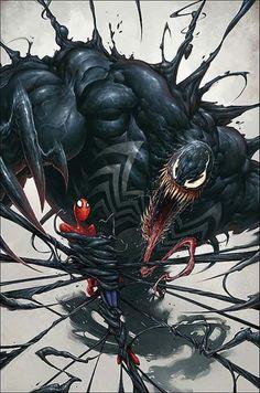imagenes de spiderman negro venom