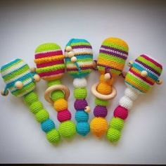 Ravelry: Antris & # Crochet rattle Related posts:Knitting Toy River Baby RecipeTop Learning Toys to Help Boost Baby's DevelopmenFelt Baby Shoes PDF Pattern Free Easy Video Tutorial Crochet Baby Toys, Crochet Amigurumi, Amigurumi Patterns, Crochet Animals, Crochet For Kids, Crochet Dolls, Simple Crochet, Amigurumi Toys, Baby Knitting Patterns