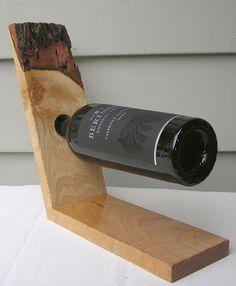 Birdseye Maple Hardwood Handcrafted Wine Rack