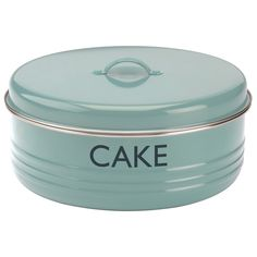 Amazon.com: Typhoon Summer House Blue Cake Tin, 4.5-Quart Capacity: Kitchen & Dining