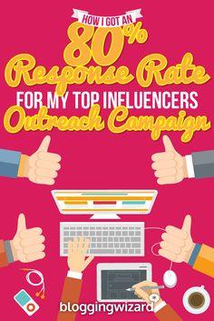 How I Got An 80% Response Rate For My Top Influencers Outreach Campaign via @adamjc
