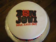 Image result for bon jovi cake