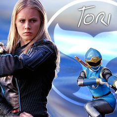 I'm not like Tori in that I don't surf, but I am tomboyish. She's my favorite girl ranger right now because she took on Zurgane by herself and defeated him with the megazord. So, even though I'm not a whole lot like Tori, I'm including her because she's a favorite of mine.