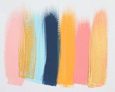 Colors 61 - an original painting by Jen Ramos at Cocoa & Hearts
