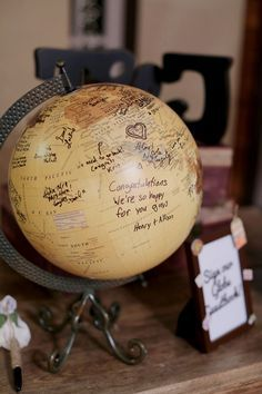 books and globes graduation party themes - Google Search