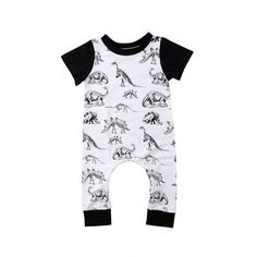 Enhill Funny Toddler Infant Newborn Baby Boys Camouflage Summer Romper Jumpsuit Short Sleeve Playsuit