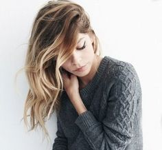 Brown To Blonde Ombre Hair Tumblr