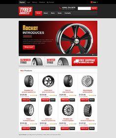Làm Web bán phụ tùng ô tô, lốp, la zăng 442 - http://lam-web.com/sp/lam-web-ban-phu-tung-o-lop-la-zang-442 - http://lam-web.com
