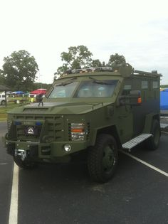 Chattanooga TN. Police SWAT unit ~ I test drove this (model) beast for my unit; man the looks you get when you pull along side someone on the street  lol